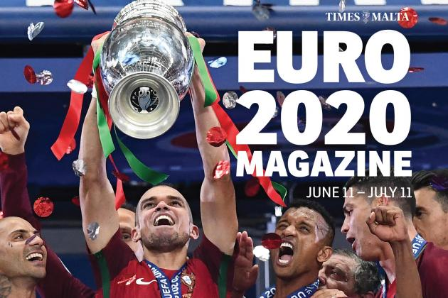 Euro 2020 magazine out with the Times of Malta newspaper on Friday