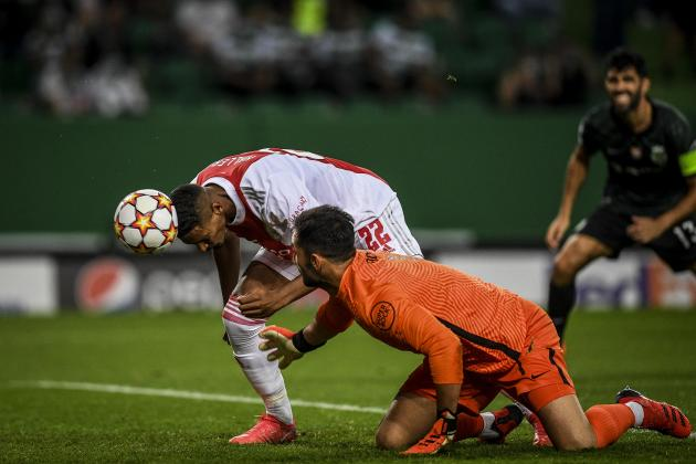 Haller scores four on Champions League debut in Ajax romp