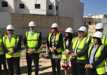 Foundations laid down for €6.2 million housing project in Birkirkara
