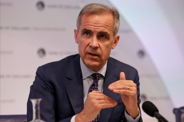 Bank of England governor Mark Carney has given ministers a stark warning. Photo: Reuters
