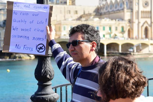 Eighty-seven objectors file joint appeal against Balluta Bay jetty project