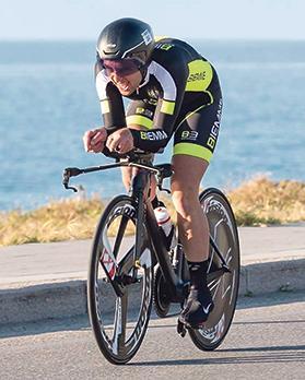 Steve Sciberras in action in Sicily.