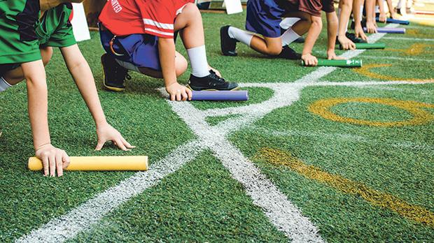 The research helped increase the amount of moderate-to-vigorous physical activity in school during PE lessons. Photo: Shutterstock
