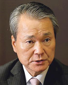 President of Nippon Life Insurance Co Yoshinobu Tsutsui. Photo: Reuters