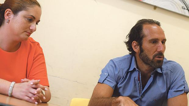Psychiatrists Aloisia Camilleri and Nigel Camilleri. Photo: Jonathan Borg