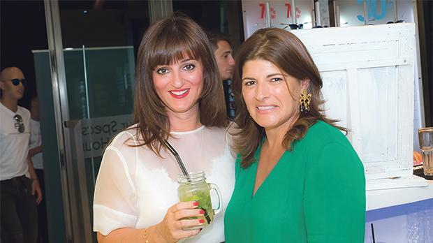 Alexia Coppini and Celia Melillo.