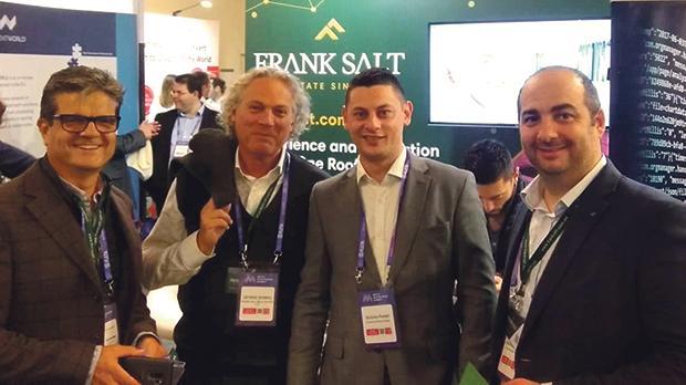 From left: Patrick Xuereb, George Bonnici, Nicholas Portelli and Joseph Baldacchino.