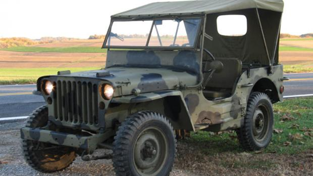 Willys-Ford Jeep canvas top