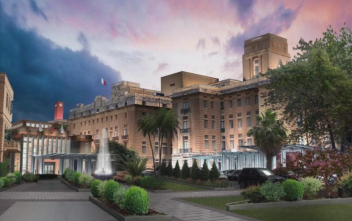 A render of the upgrade to St Luke's which Vitals had pledged.