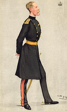 Baron Methuen by Spy, Vanity Fair, 1898.