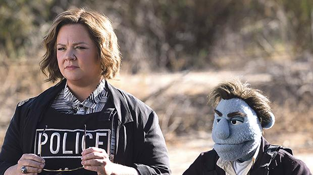Melissa McCarthy is no sesame, all street in The Happytime Murders.