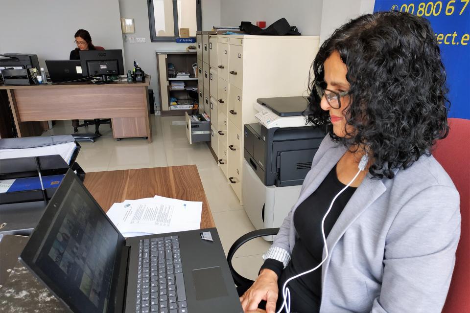 Marlene Musat (EDIC-Gozo). Photo: Charles Spiteri