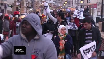 Protest walk supports migrants facing repatriation