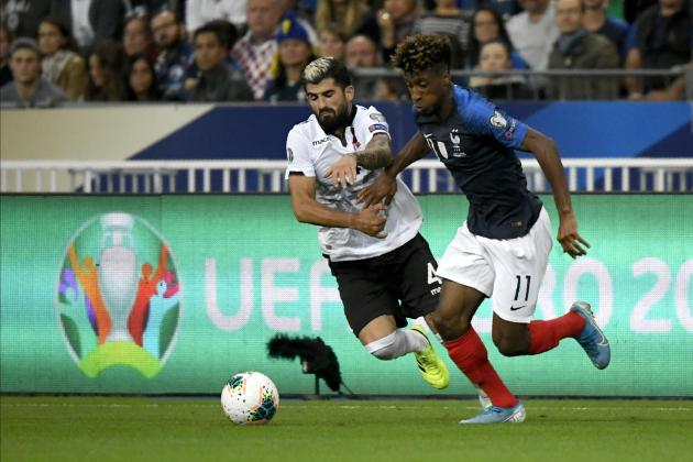 Watch: Coman brace helps France ease past Albania