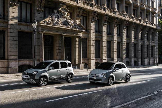 Fiat charges forward with mild-hybrid variants of Panda and 500