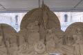 Vatican's St Peter's Square gets 720-ton sand nativity scene