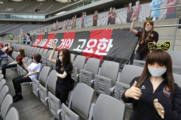Korean football club get record fine over sex dolls in stands