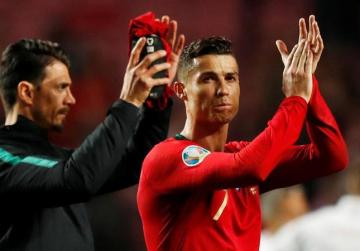 Ronaldo draws blank on Portugal return in Euro qualifier