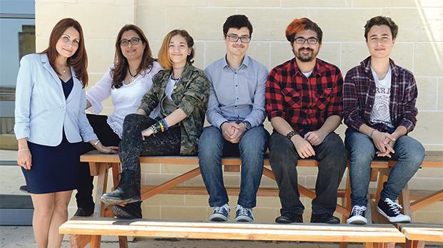 The Maltese students and teachers who are heading to Romania this summer. Photo: Matthew Mirabelli
