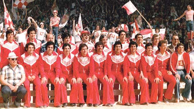 Valletta FC – 1978-79 league champions and FA Trophy winners.