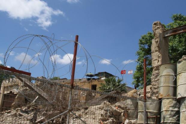The border at Nicosia. Photo: Shutterstock