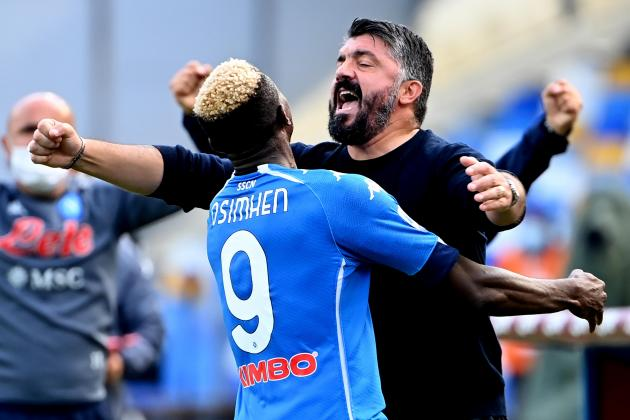 Gattuso's Napoli test title ambitions against Ibrahimovic's AC Milan