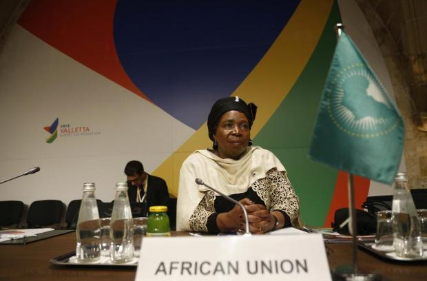 Nkosazana Dlamini-Zuma, chairperson of the African Union Commission, attends the Valletta Summit on Migration at the Mediterranean Conference Centre in Valletta on November 12. Photo: Darrin Zammit Lupi