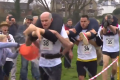 UK Wife Carrying champ beats the mud to win place in world final