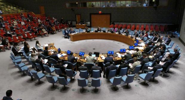 The UN Security Council. Photo: Shutterstock