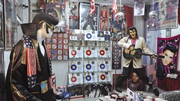All Shook Up At Elvis Memorabilia Auction