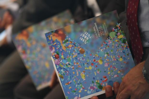 The 240-page programme was launched today. Photo: Jonathan Borg