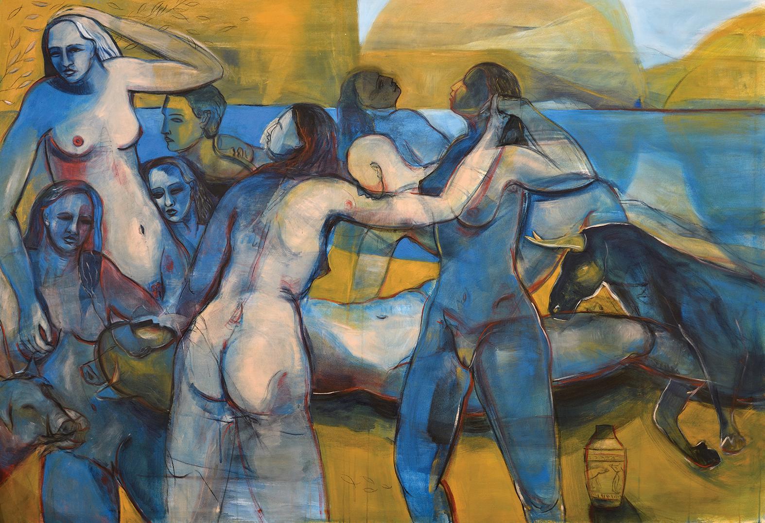 Circe and her Nymphs (2020), Gabriel Buttigieg