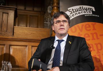 EU parliament cancels Catalan independence leader's event