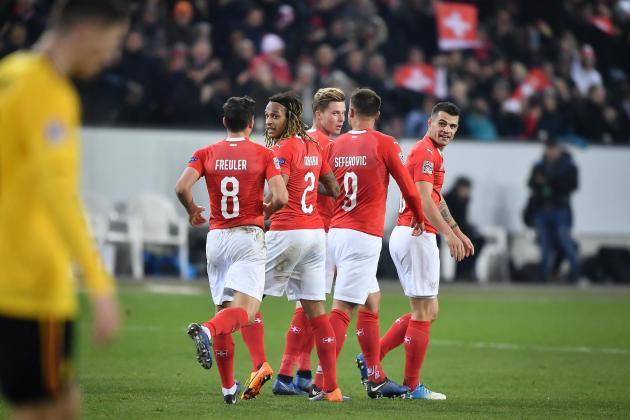 Xhaka and Shaqiri head up Swiss Euro squad, no place for Zeqiri