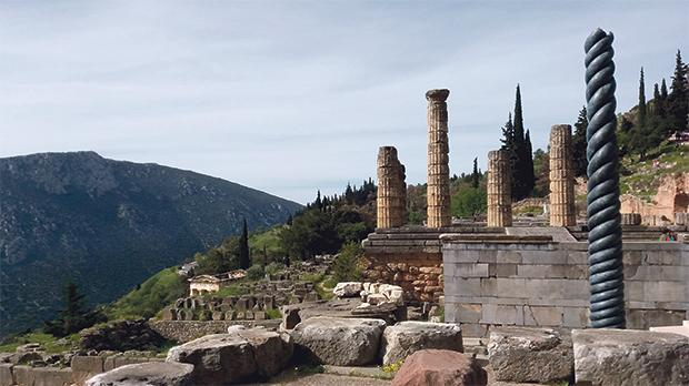 Remains of the Temple of Apollo.