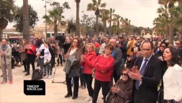 Watch - Anti-abortion activists seek assurances from politicians | Video: Chris Sant Fournier.