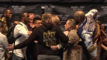 Watch: Wilder, Fury pump up volume ahead of Dec 1 heavyweight clash   Video: AFP