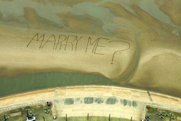 articles view news blackpool tower marriage proposal sandy ring