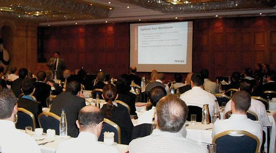 The mobile warehousing seminar organised by Exigy