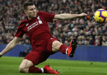 Liverpool's Milner sent off by his former PE teacher