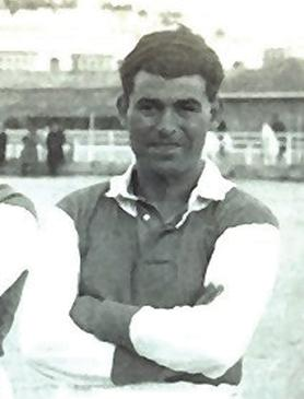 Carmelo Cauchi – a star performer in Floriana's 1927-28 title-winning side.