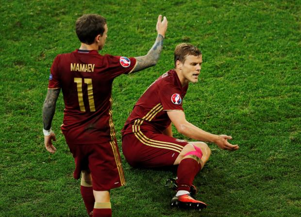 Alexander Kokorin and Pavel Mamayev on international duty for Russia