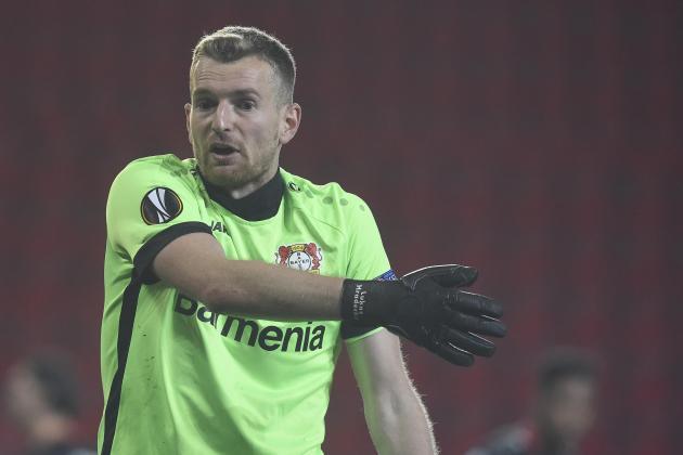 'That'll be on YouTube': Leverkusen 'keeper Hradecky laughs off own-goal howler