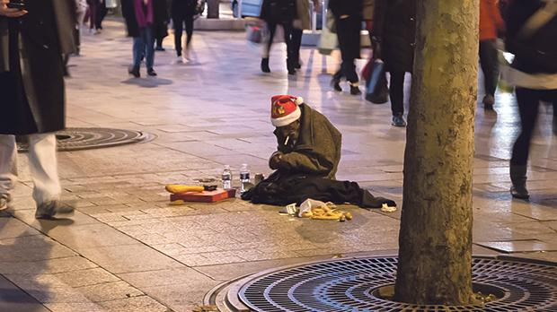 While many endure the stress and expense of preparing for Christmas, a much greater number are enduring the stress of hunger and the atrocities of war. Photo: Elena Dijour/Shutterstock.com