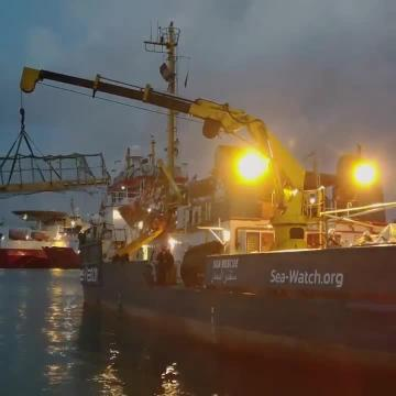 Watch: Rescue vessel impounded in Malta sets off at last