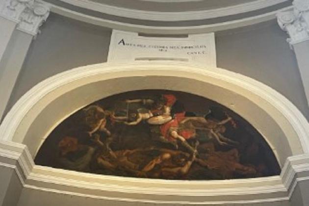 Last Mattia Preti painting restored at Sarria church