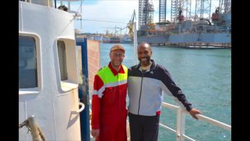 Watch: Malta told us to go back to Libya, captain of 'hijacked' ship says   The captain spoke to Lifeline.