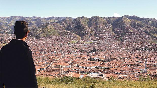 The splendour of Cusco.