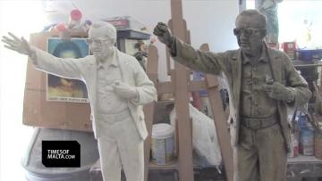 Mintoff statue artist blasts OPM move - amended version of design revealed