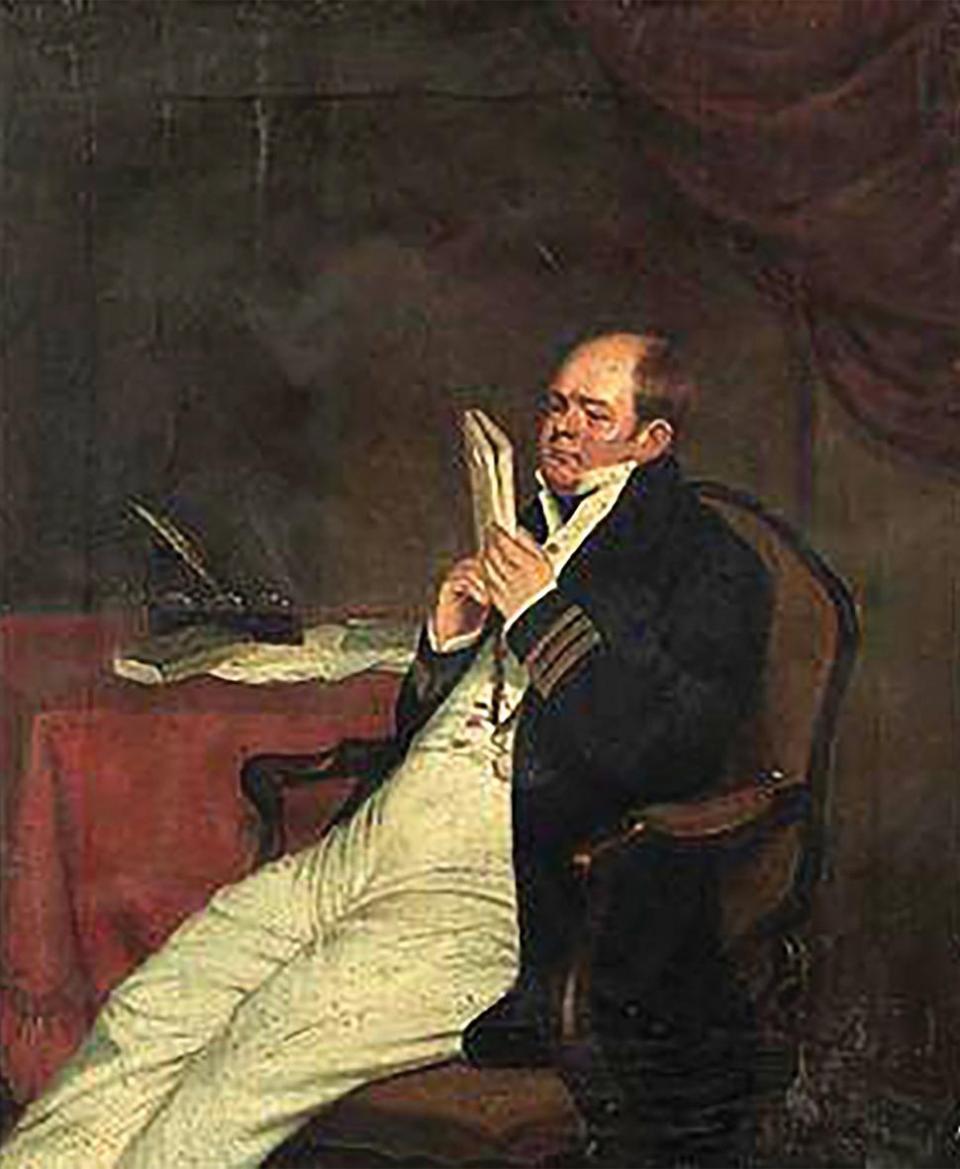 Portrait of Captain Sir Robert Cavendish Spencer, 'after Charles Allingham'. Photo: Christie's Images/Bridgeman Images
